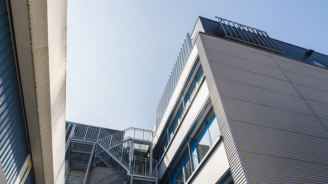 Aufstockung Berufsoberschule Pfarrkiche Bauen im Bestand