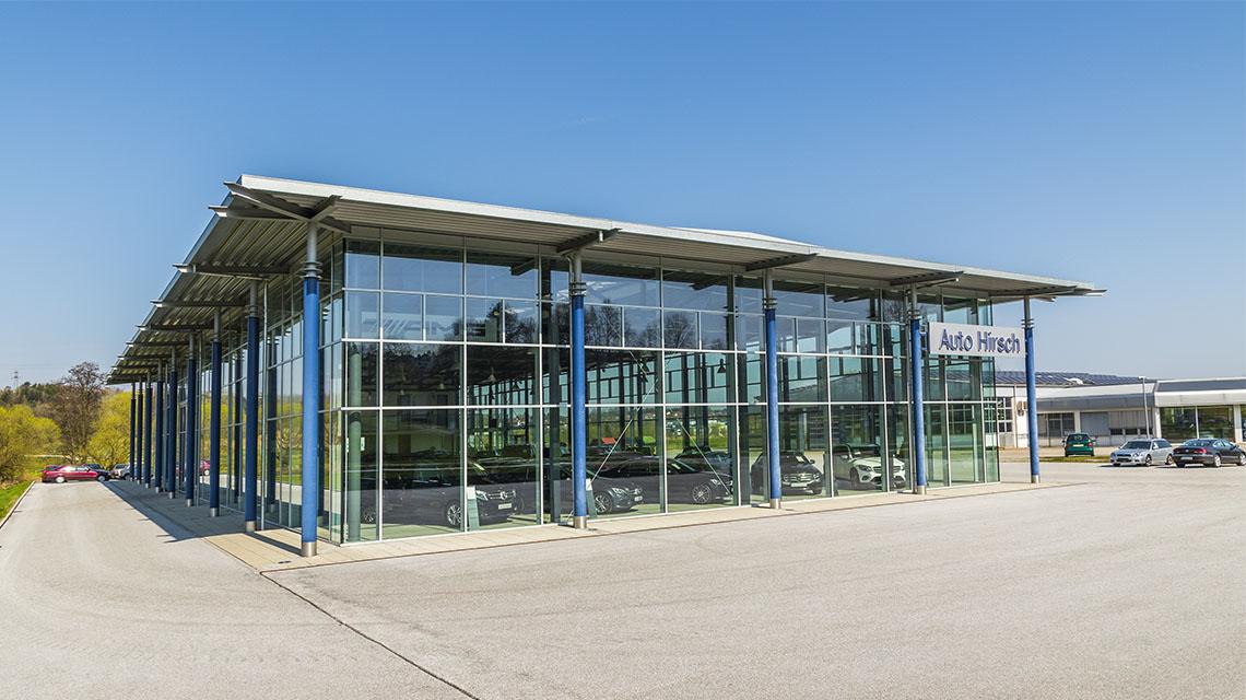 Industriebau Ingenieurbüro Tändler und Bschlangaul Autohaus Hirsch